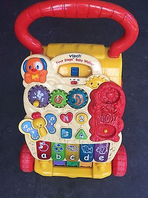 Vtech First Steps Baby Walker kids play activities learning tool