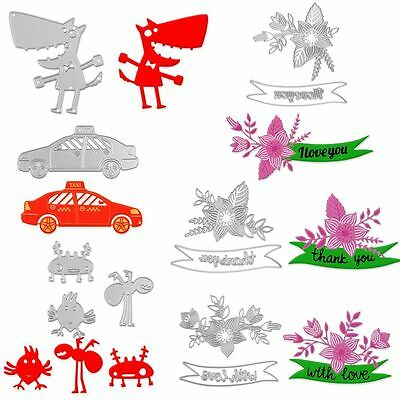 Steel Cutting Dies Stencil For DIY Scrapbooking Album Paper Cards Gifts Hot Sale