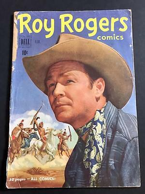 Roy Rogers Comics #38 GOLDEN AGE WESTERN February 1951 LOW GRADE READER