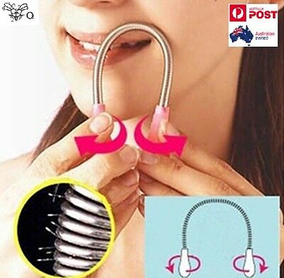 Safety Facial Hair Epicare Epilator Remover Threading Spring Stick