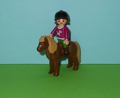 Playmobil Child with Pony/ Country/ Farm/ Horse