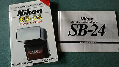Nikon Sb-24 Speedlight Instruction Manual And Users Guide