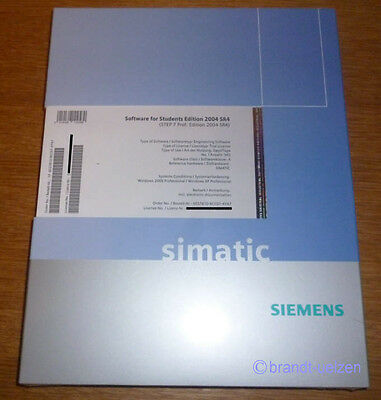 Siemens Simatic Software STEP 7 Prof. Edition 2004 SR4  - Neuware - mit Rechnung