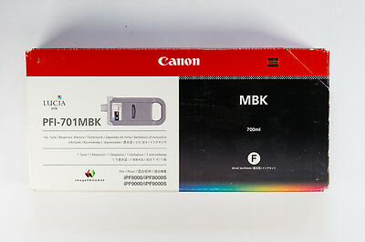 Canon PFI-701MBK Ink Cartridge