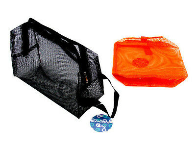 Mesh Storage Bag Travel Outdoor Zipper Hanging Storage Pouch for Camping Hiking