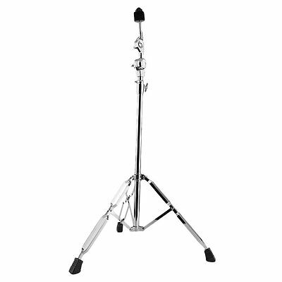 Cymbal Boom Stand Double Braced Legs Drum Hardware Arm Chrome Percussion New