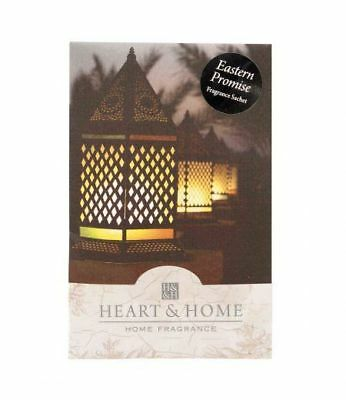 Pack of 6 Heart and Home Eastern Promise Large Scented Sachet with Hanger