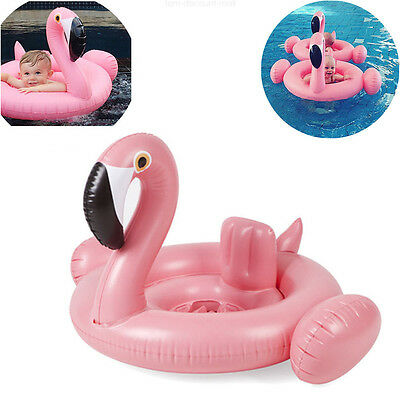 Cute Swan Baby Infant Inflatable Swimming Aid Trainer Seat Ring chair, 6-24M NEW