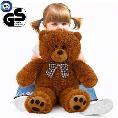 xxl teddyb r kuscheltier stofftier pl sch b r teddy pl schtier pl schb r 90 cm eur 10 00. Black Bedroom Furniture Sets. Home Design Ideas