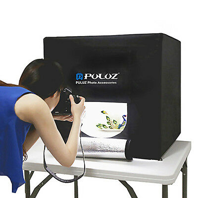PULUZ Photo Studio 24''x24''x24'' Shooting Lighting Soft Box Cube Tent