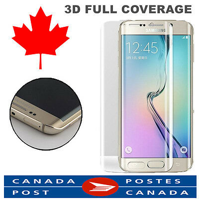 Samsung Galaxy S7 Edge Tempered Glass Film Screen Protector FULL COVER