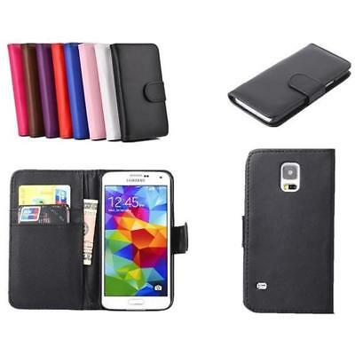 Leather Credit Card Wallet for Samsung Galaxy S5