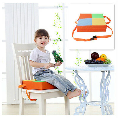 Dining Chair Booster Cushion Seats and Adjustable Booster Seat Highchair Mat