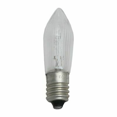14v 3w Ribbed Candle Light Bulb MES E10 (14v Not Mains 240v) Candle Bridge