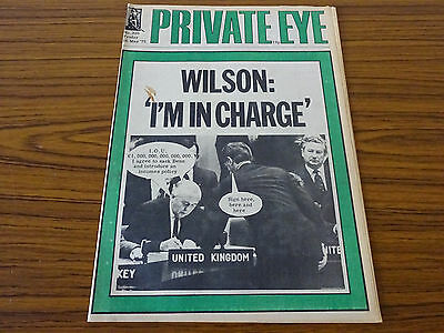 Private Eye Magazine: No.350: 16th May 1975: Wilson: 'I'm in Charge'