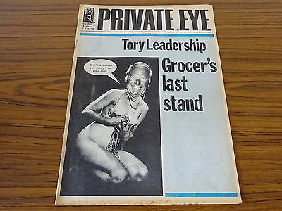 Private Eye Magazine: No.343: 7th Feb. 1975: Tory Leadership/Grocer's Last Stand