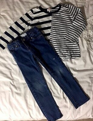 Boys Size 4 Country Road Jeans & Seed Top