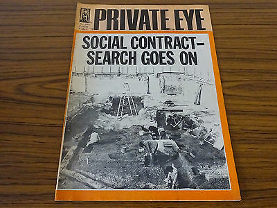 Private Eye Magazine: No.345: 7th March 1975: Social Contract, Search Goes On