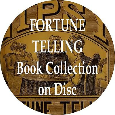 FORTUNE TELLING CD 20 Old Book Collection Cartomancy Vintage Antique Rare Books