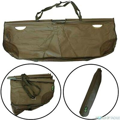 Folding Weigh Sling Retainer Carp Fishing 120 x 55cm with Carry Storage Pouch