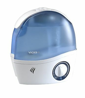 Vicks Paediatric Cool Mist Ultrasonic Humidifier Ease Dry Nose Throat - V5000