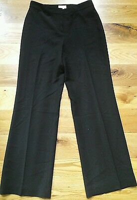 ANN TAYLOR LOFT Black Dress Pants FULLY LINED Size 6 NWOT