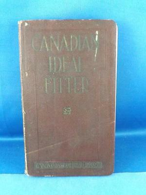 Canadian Ideal Fitter Sales Catalog Book Dominion Radiator Boiler Co. 1928