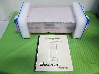 BASLER ELECTRIC PROGRAMMABLE BREAKER PROTECTION RELAY BE1-BPR (New)