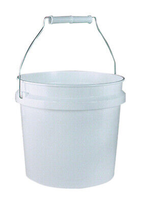 Leaktite Mixing Pail Plastic 1 Gl White Pack of 24