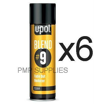 UPOL NEW BLEND#9 Fade Out Solvent CLEAR CASE OF 6 BLEND/AL S2043/AL  PRICE DROP