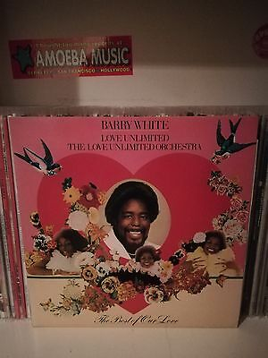 Barry White ‎– The Best Of Our Love Lp (Unlimited Gold, Netherlands 1980)