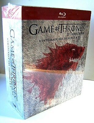 Game Of Thrones - L' Integrale Des Saisons 1 & 2 - Coffret Blu-Ray Neuf, Emballe