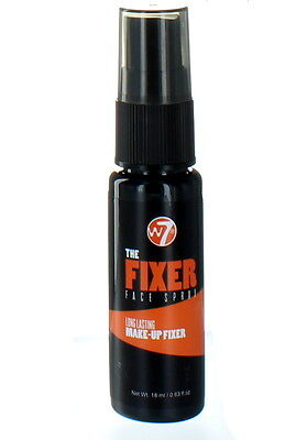 W7 The Fixer Long Lasting Make Up Face Spray 18ml