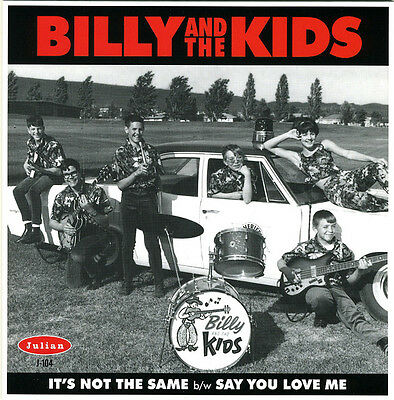 "BILLY & THE KIDS It's Not The Same vinyl 7"" NEW garage punk Back From The Grave"