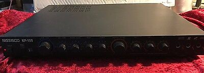 NISSINDO 3 Microphone Karaoke Mixer Model KP-100 Discontinued