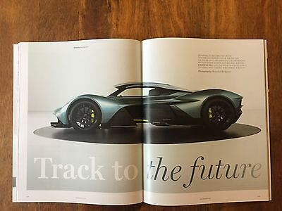 "Aston Martin Magazine/Brochure - Featuring The New ""Valkyrie"""