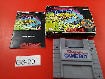 Super Gameboy [CIB Complete in Box] (Super Nintendo SNES) Tested & Working