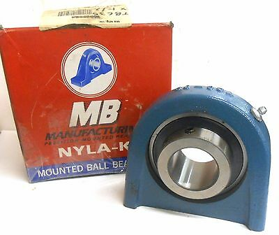 "Nyla-K, Mounted Ball Bearing, Tbc35, 1 1/2"", Mb"