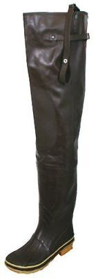 Calcutta Hip Wader Boot Fly Fishing Hunting BOY's Waders Brown Size 3 NEW