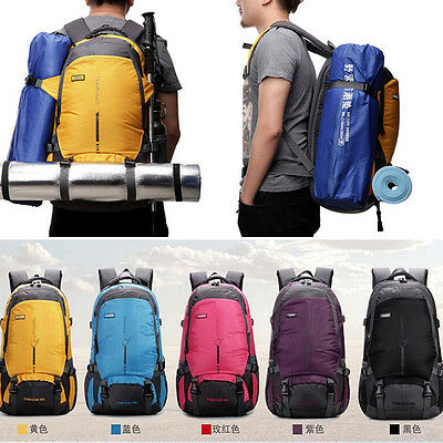 45L Rucksack Bag Outdoor Sport Luggage Travel Backpack Camping Hiking Climbing