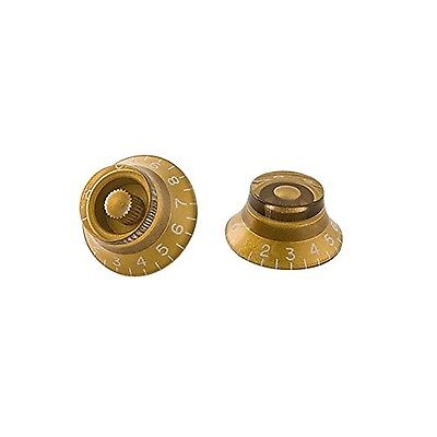 Gibson Gear Top Hat Knobs (Pack of 4) Gold
