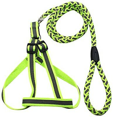 Pet Life Reflective Stitched Easy Tension Adjustable 2-In-1 Pet Dog Leash and...