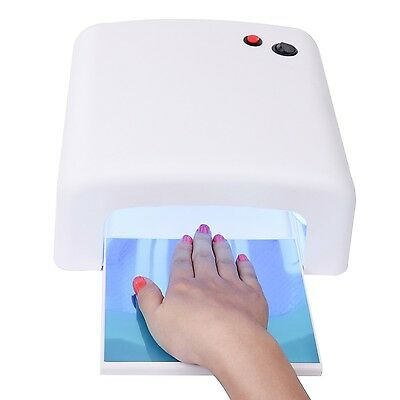MAKARTT 36W UV Curing Lamp for UV Nail Gel Manicure/Pedicure Nail Dryer with ...