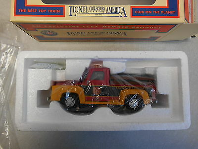 Lionel #58287 LCCA 2016 Kansas City Motorized Inspection Convention Truck