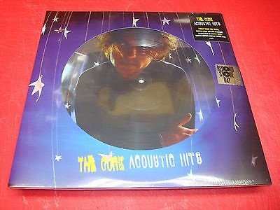 THE CURE *Acoustic Hits* SEALED 2017 RSD 2 LP Picture Disc Set  U.S.
