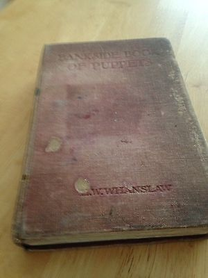 The Bankside Book Of Puppets by H.W Whanslaw - Rare Vintage Book