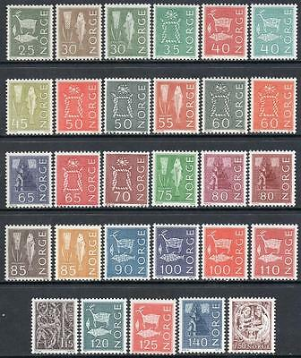 NORWAY MNH 1962 Definitive set, complete