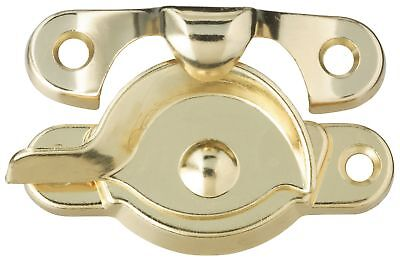 Stanley Hardware 755876 Bright Brass Window Sash Lock