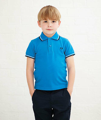 Kids Fred Perry Twin Tipped Shirt 171