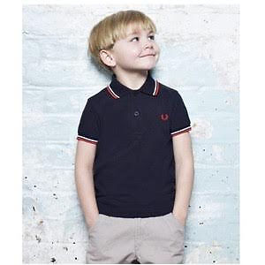Kids Fred Perry Twin Tipped Shirt 471